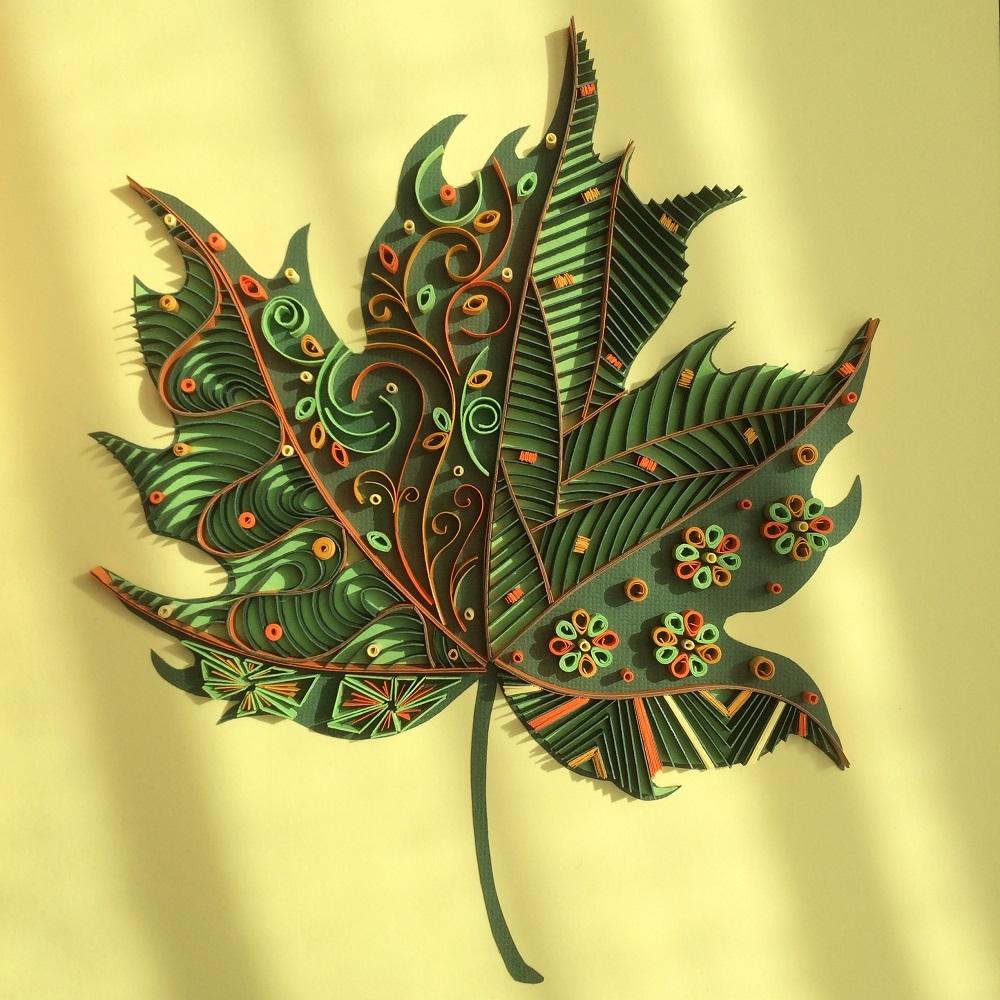 Tomris Acar Quilled Paper Art