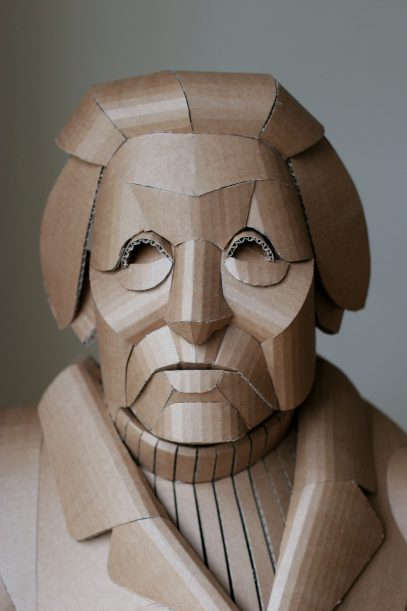 Life-Size Cardboard Figures by Warren King
