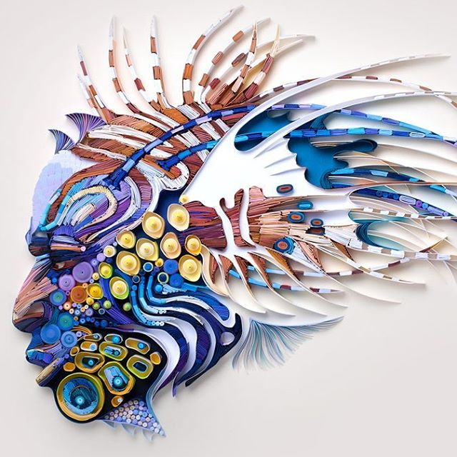 Yulia Brodskaya Quilled Paper Art