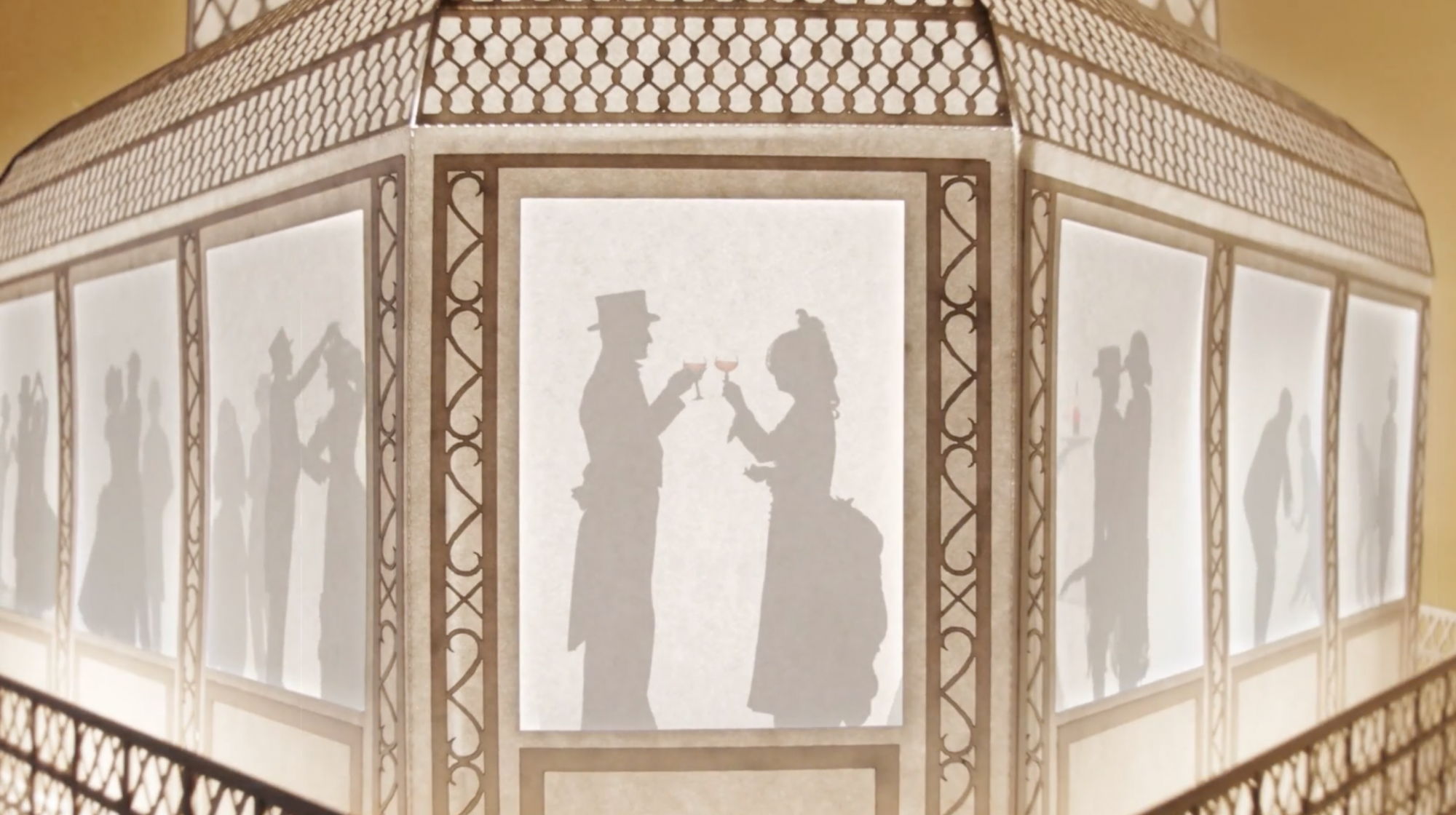 An Animated Journey Through Time With Courvoisier, The Toast of Paris [Video] - Davy and Kristin McGuire