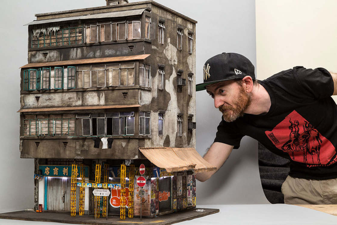 Miniature Urban Landscape by Joshua Smith