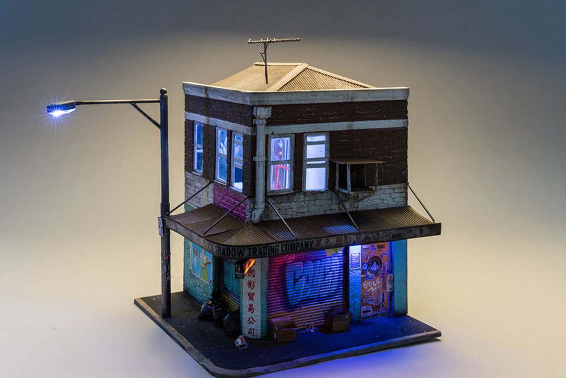 Miniature Urban Landscape by Joshua Smith