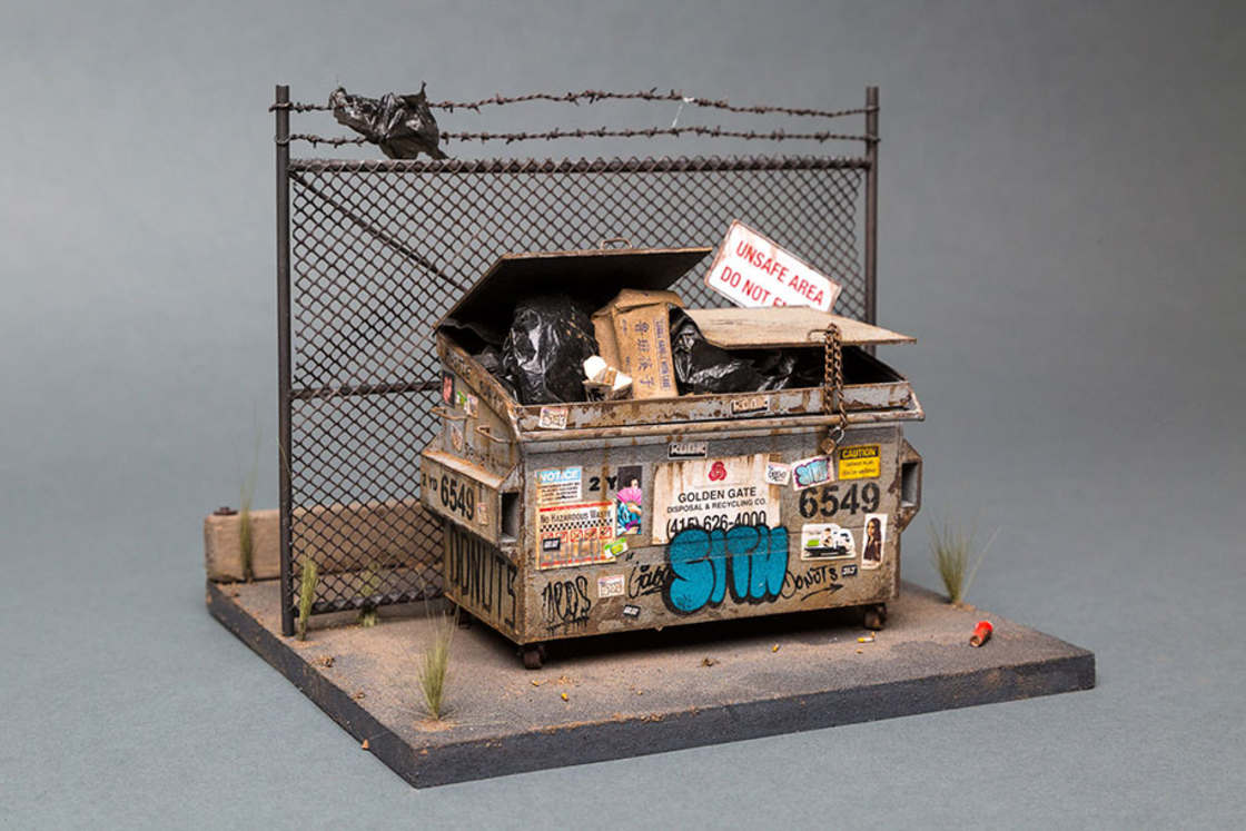 Miniature Urban Landscape By Joshua Smith Strictlypaper