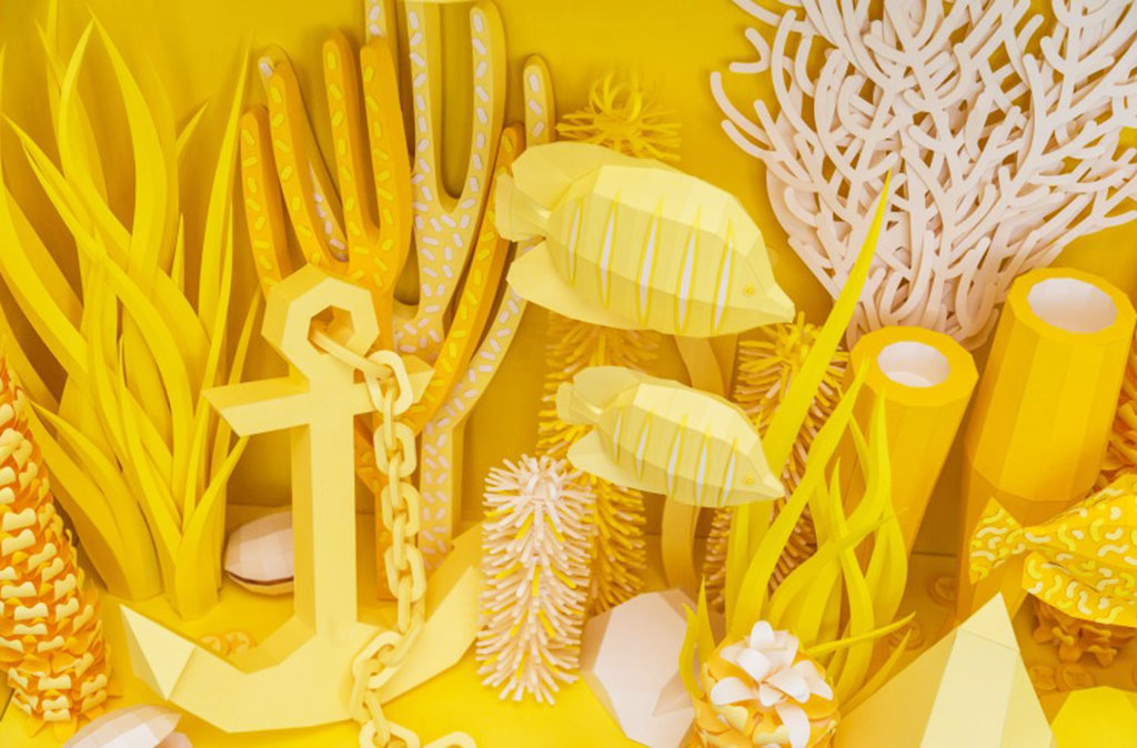Interview with Paper Artist Aline Houdé-Diebolt