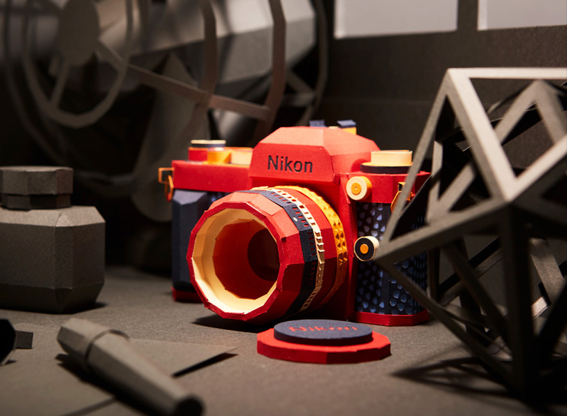 Nostalgia-Inducing Classic Cameras Precisely Folded From Paper