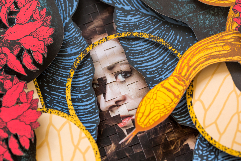 Asynchronist: A Collage Art Collaboration Between Alex Eckman-Lawn and Jason Chen