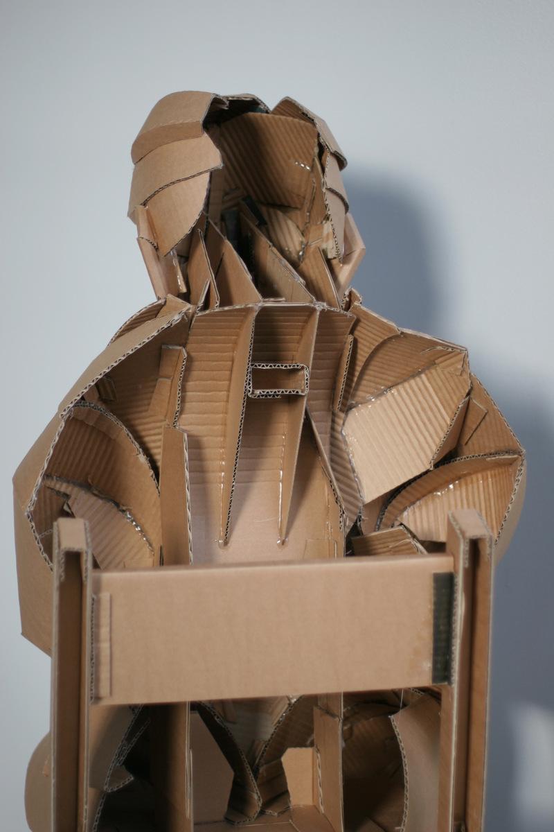 Life-Size Cardboard Figures by Warren King | strictlypaper